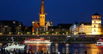 Duesseldorf by night