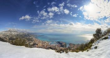 Monte Angel vista sul Principato di Monaco