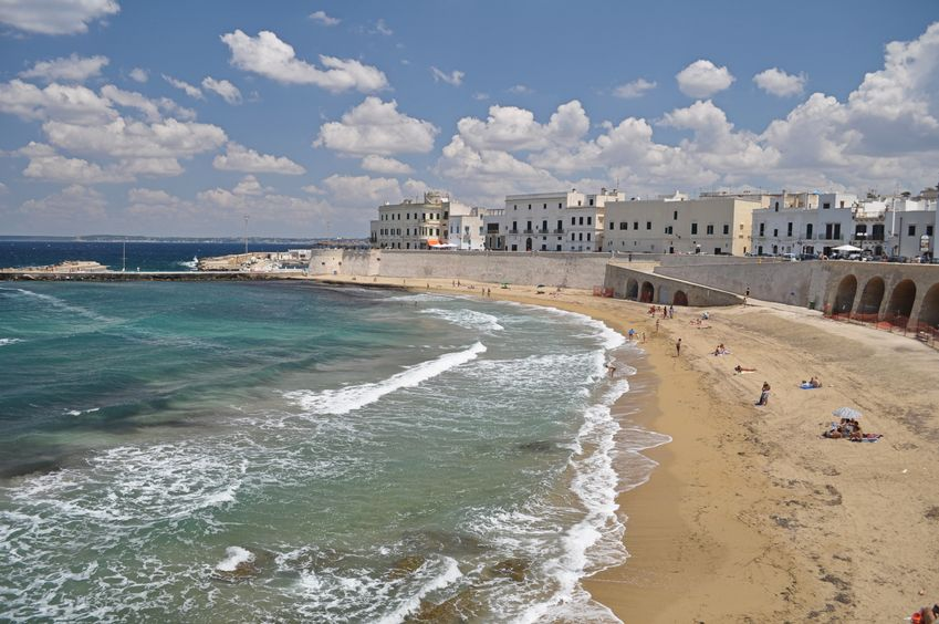Spiaggia a Gallipoli