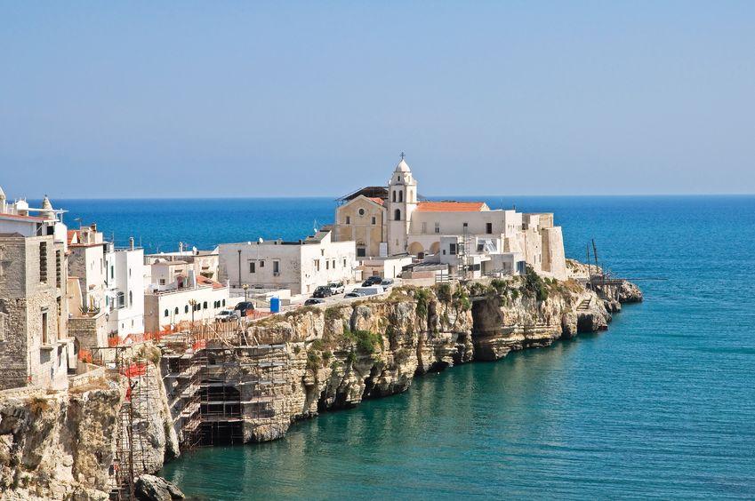 Vieste ed il mare di Puglia