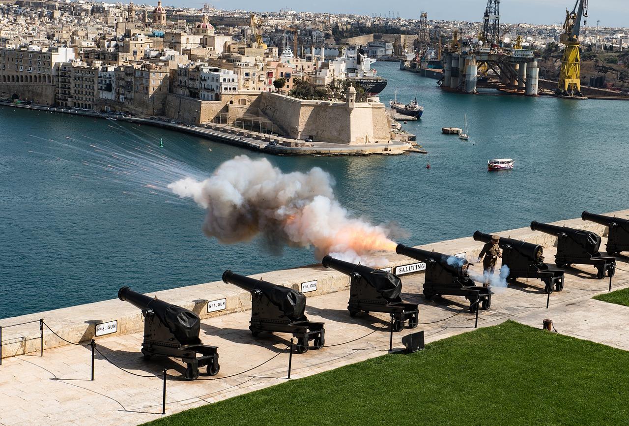 Saluto Batteria La Valletta