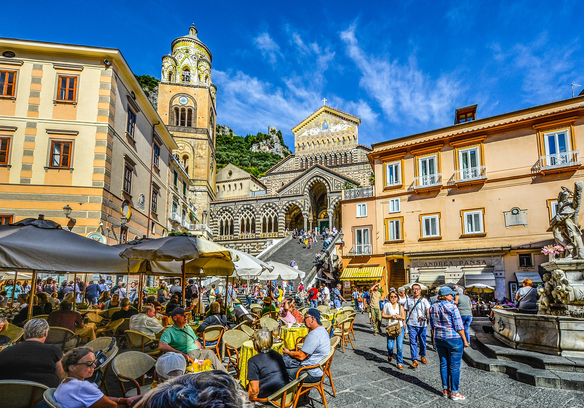 centro di amalfi cattedrale