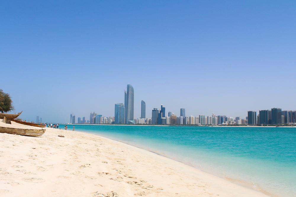 spiaggia le Corniche ad Abu Dhabi