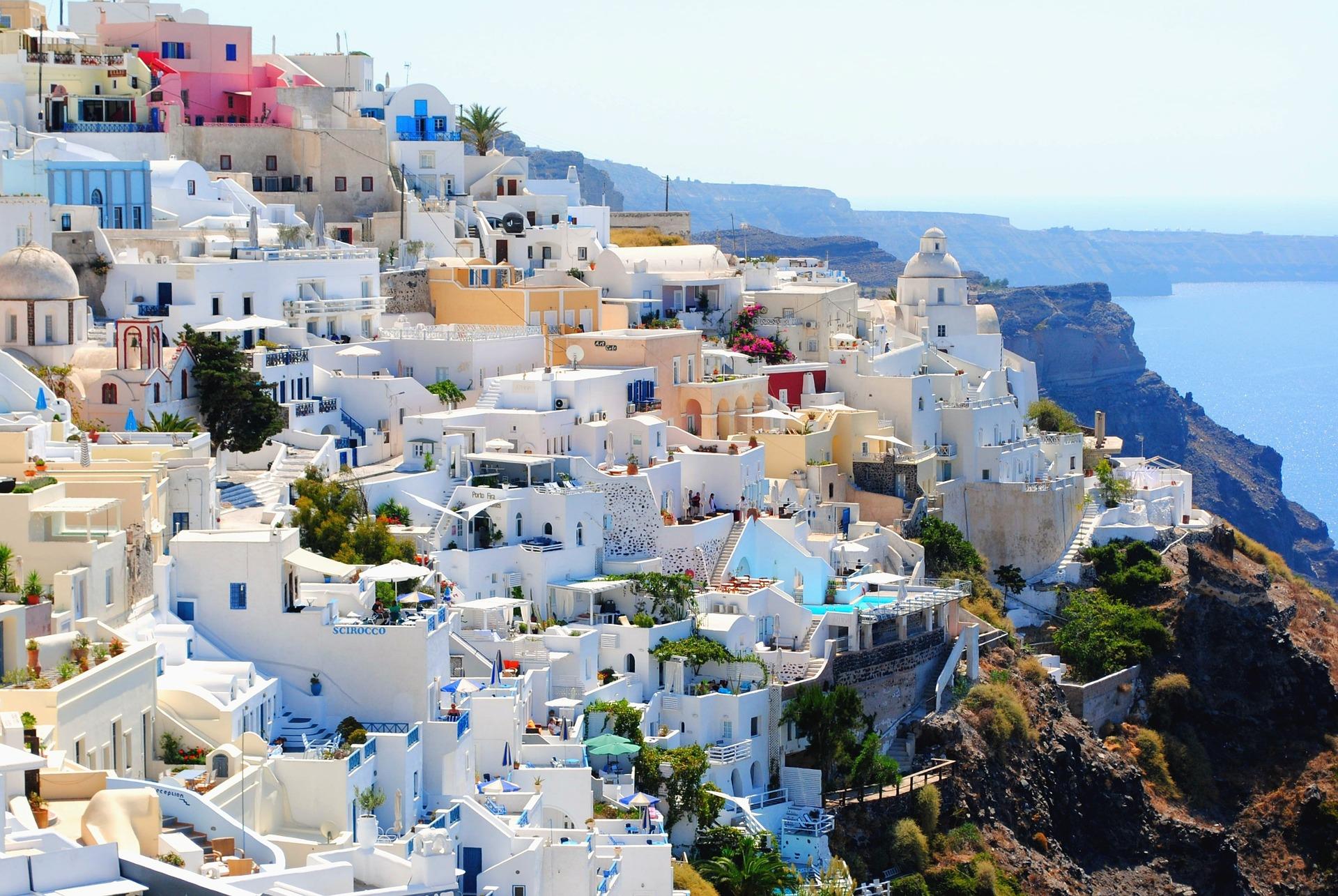 I colori di Oia a Santorini