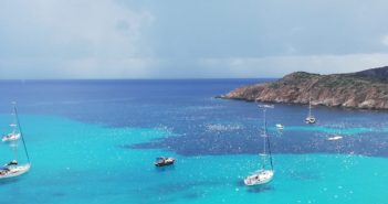 Tuerredda: le barche volanti di Teulada, Sardegna sud occidentale