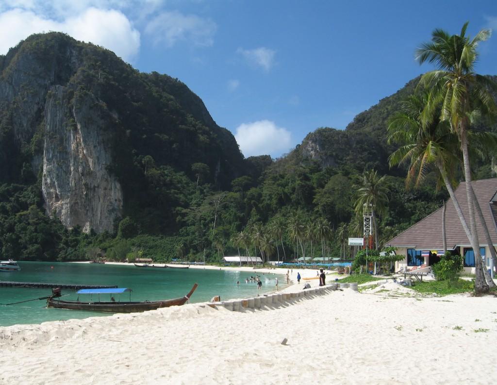 spiaggia di Phuket in Thailandia