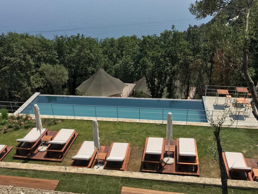 Piscina e Centro benessere Framura cinque terre al Sesta Terra Resort