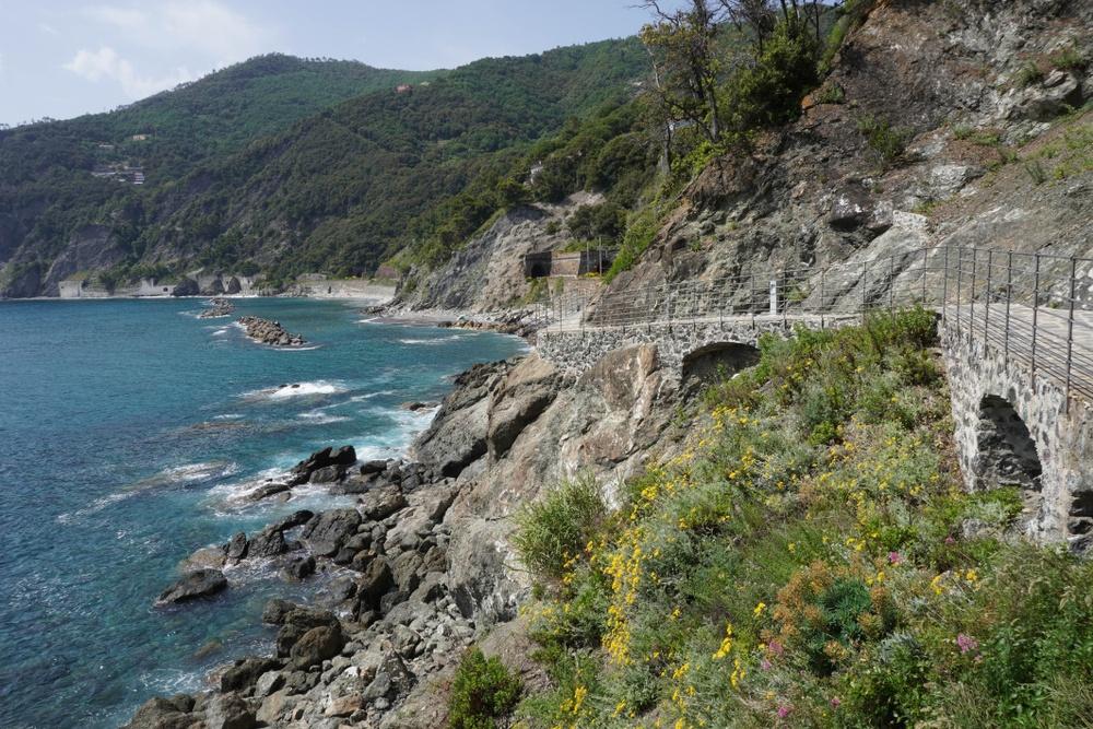 Spiagge Framura Cinque Terre in Liguria