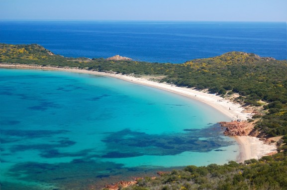 Spiaggia Coda Cavallo in Sardegna nei pressi di San Teodoro, ilViaggio.it immagini