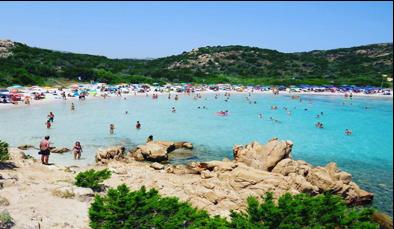 Spiaggia del principe costa smeralda sardegna