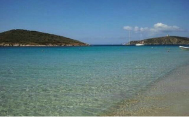 Spiaggia del piccolo e grande Pevero