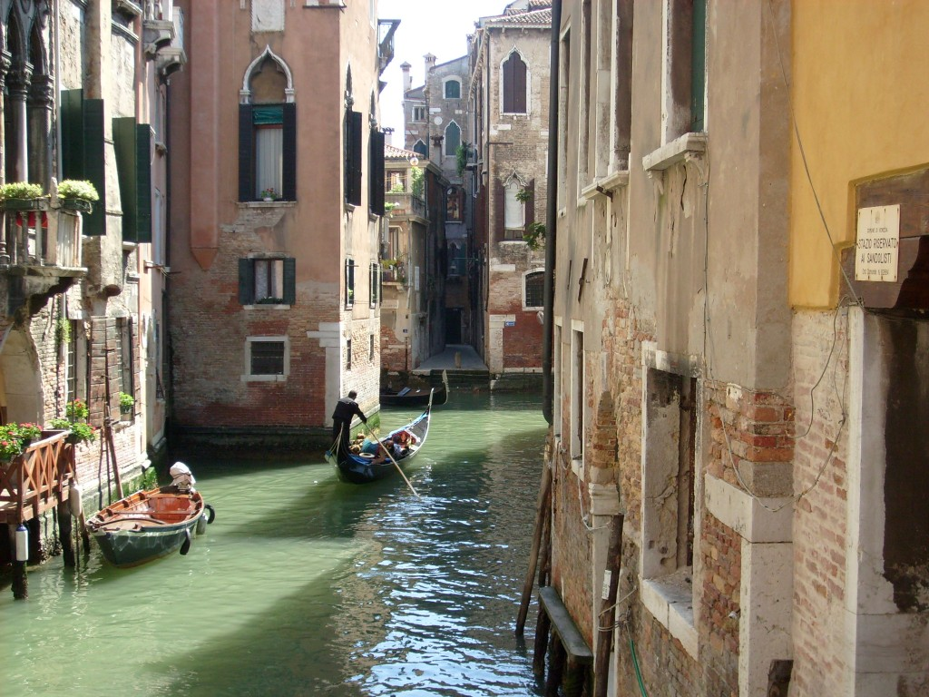 venezia vista sul canale